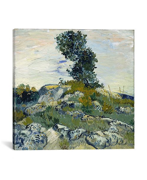 iCanvas The Rocks by Vincent Van Gogh Wrapped Canvas Print Collection
