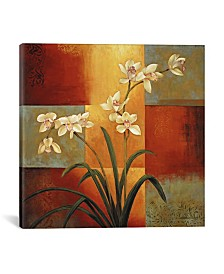 "iCanvas White Orchid by Jill Deveraux Wrapped Canvas Print - 37"" x 37"""