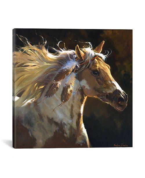 """iCanvas Spirit Horse by Carolyne Hawley Wrapped Canvas Print - 18"""" x 18"""""""