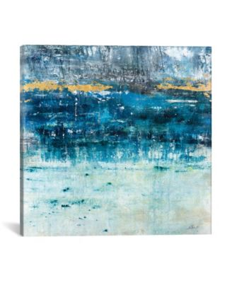 """Touch Of Gold by Julian Spencer Wrapped Canvas Print - 26"""" x 26"""""""