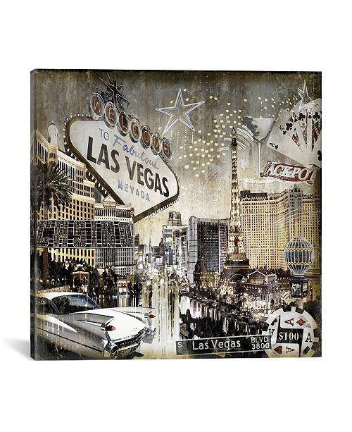 iCanvas  Las Vegas by Dylan Matthews Wrapped Canvas Print Collection