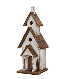 Extra-Large Rustic Wood Birdhouse