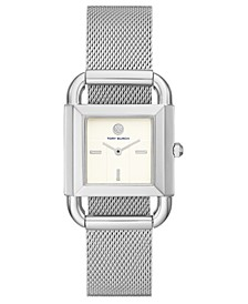Women's Phipps Stainless Steel Mesh Bracelet Watch 24mm