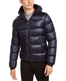 Men's Slim-Fit Hooded Water Resistant Down Jacket