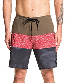 "Men's Washed 18"" Swim Trunk"