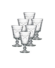 La Rochere Versailles 7.5-ounce Wine Glass, Set of 6