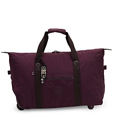 Kipling Art On Wheels Suitcase