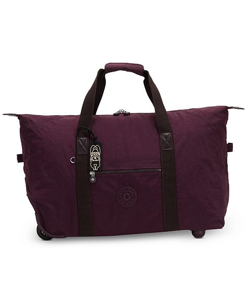 Kipling Art On Wheels Suitcase
