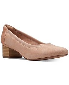Clarks Collection Women's Chartli Fame Block-Heel Pumps