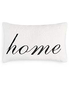 "Sherpa Word 24"" x 16"" Decorative Pillow, Created for Macy's"