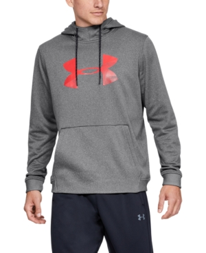 Under Armour Tops MEN'S ARMOUR FLEECE BIG-LOGO HOODIE