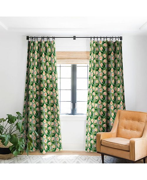 Deny Designs Hello Sayang Lovely Roses Curtain