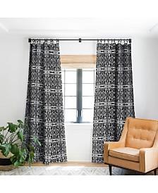 Deny Designs Rosie Brown White Lightening Curtain