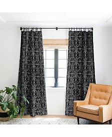 Deny Designs Schatzi Brown Reeve Pattern Curtain