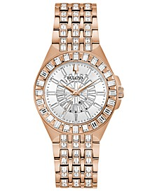Women's Phantom Rose Gold-Tone Stainless Steel Bracelet Watch 32.5mm