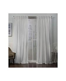 Curtains Velvet Heavyweight Pinch Pleat Curtain Panel Pair