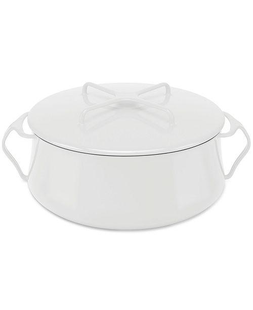 Dansk Cookware, 6 Qt Kobenstyle White Casserole