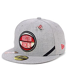 Houston Rockets 2019 On-Court Collection 59FIFTY Fitted Cap