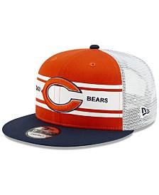 New Era Chicago Bears Classic 77 Stripe Mesh 9FIFTY Cap