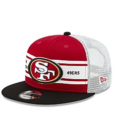 New Era San Francisco 49ers Classic 77 Stripe Mesh 9FIFTY Cap