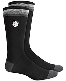 Men's Panda Socks, Created for Macy's