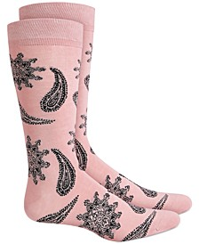 Men's Floral Paisley Socks, Created for Macy's