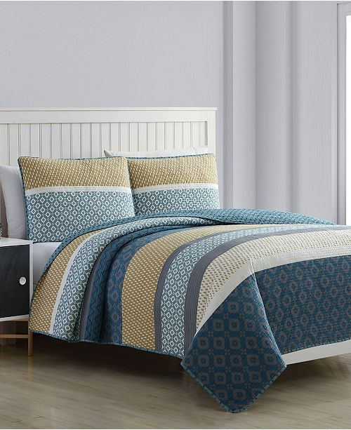 American Home Fashion Estate Alexis Quilt Set