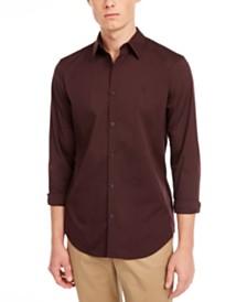 Calvin Klein Men's Slim-Fit Stretch Solid Shirt