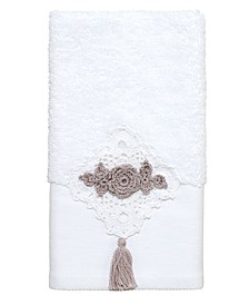 Diamond Lace Fingertip Towel