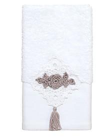 Avanti Diamond Lace Fingertip Towel