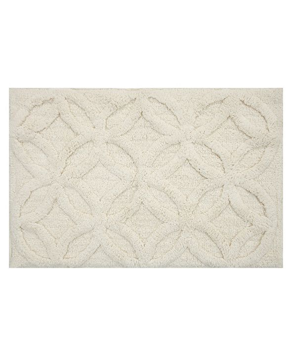 "Perthshire Platinum Collection Arch 17"" x 24"" Bath Rug"