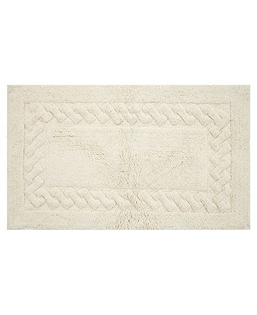 "Perthshire Platinum Collection Chain 20"" x 30"" Bath Rug"