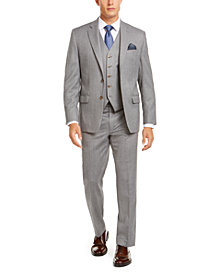 Lauren Ralph Lauren Men's Classic-Fit UltraFlex Stretch Light Gray Suit Separates