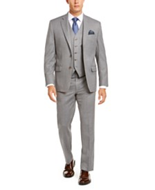 Lauren Ralph Lauren Men's Classic-Fit UltraFlex Stretch Light Gray Suit Separates