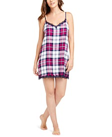 Lace-Trim Chemise Nightgown, Created for Macy's