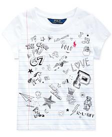 Toddler Girls Jersey Cotton T-Shirt