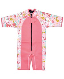 Toddler Girl's Shorty Wetsuit