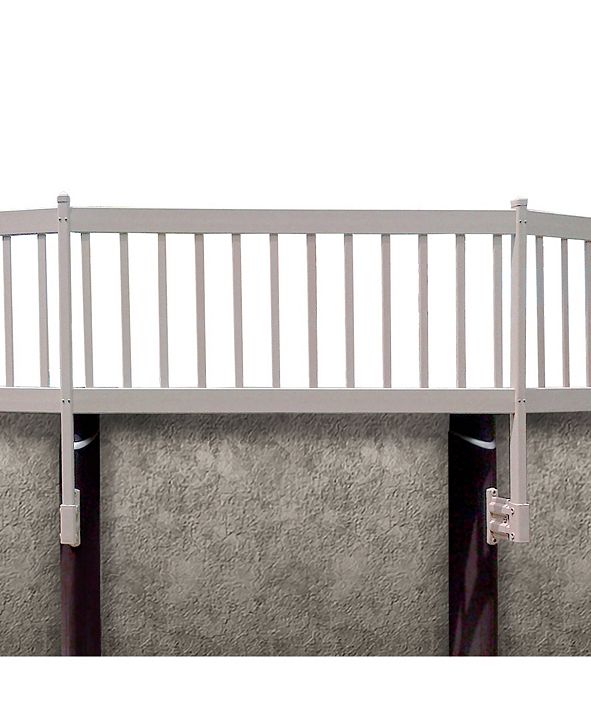 Vinyl Works Above Ground Pool 8 Section Fence Kit