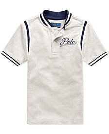 Polo Ralph Lauren Little Boys Mesh Knit Polo Shirt