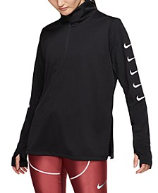 Women's Swoosh Half-Zip Running Top