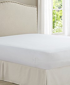 Cool Bamboo Twin Mattress Protector with Bed Bug Blocker