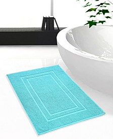 Feather and Stitch 2-Pc. Cotton Bath Mat Set