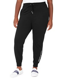 Tommy Hilfiger Sport Plus Size Logo Joggers