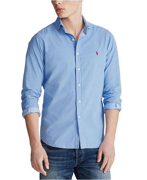Polo Ralph Lauren Men's Classic Fit Corduroy Button-Down Shirt