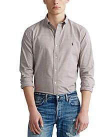 Men's Twill Sport Shirt