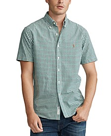 Men's Big & Tall Classic Fit Gingham Shirt