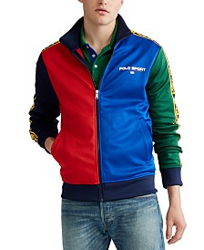 Polo Ralph Lauren Men's Polo Sport Tricot Fleece Track Jacket