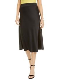 Bar III Satin Slip Skirt, Created for Macy's