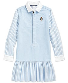 Big Girls Classic Oxford Shirtdress