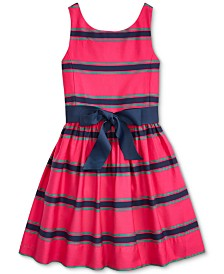 Polo Ralph Lauren Little Girls Cotton Cricket Dress